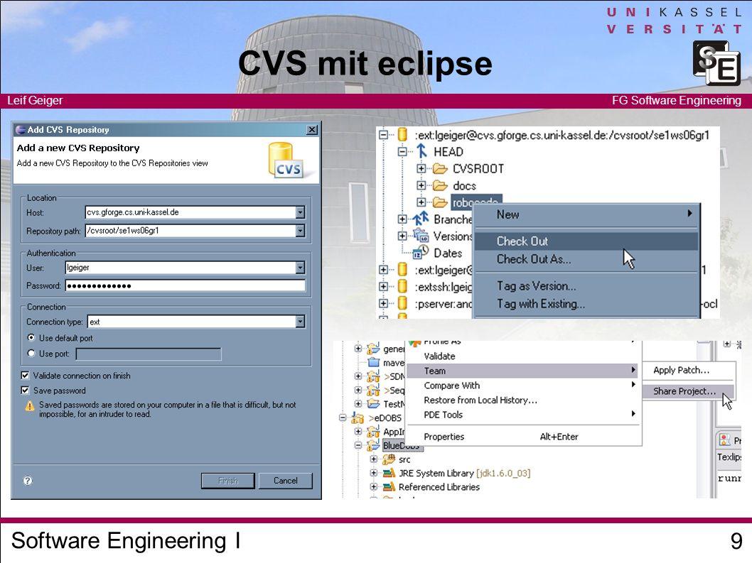 CVS mit eclipse