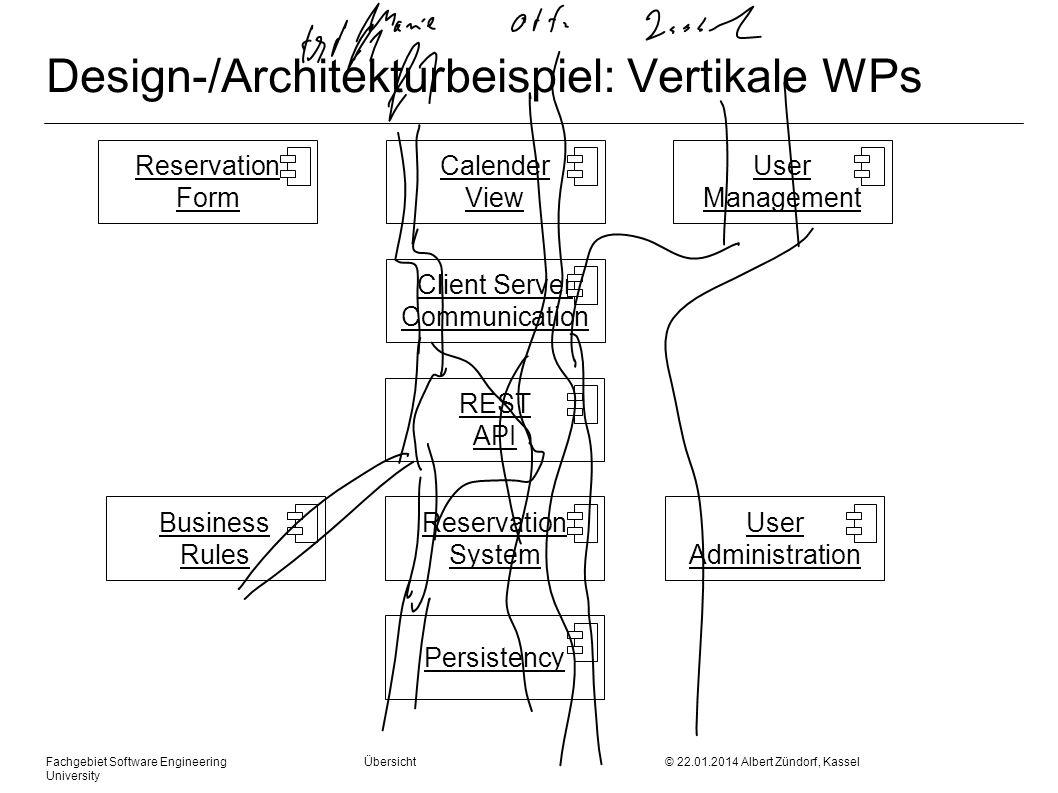 Design-/Architekturbeispiel: Vertikale WPs