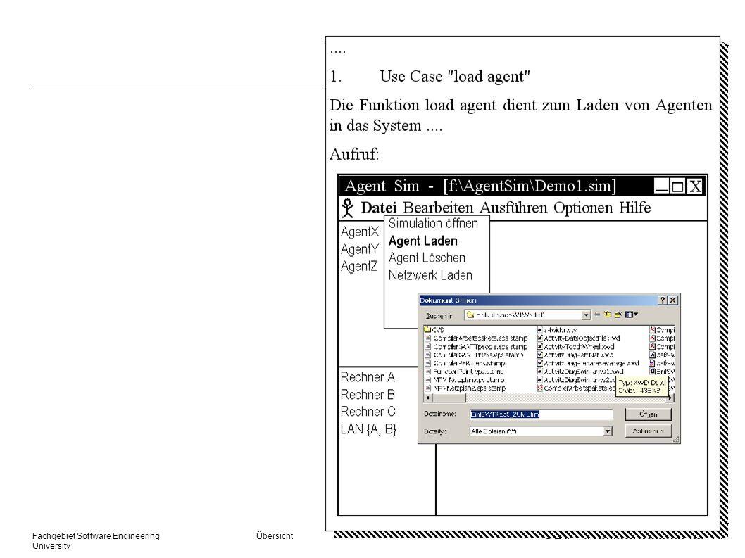 Fachgebiet Software Engineering. Übersicht. © 27. 03