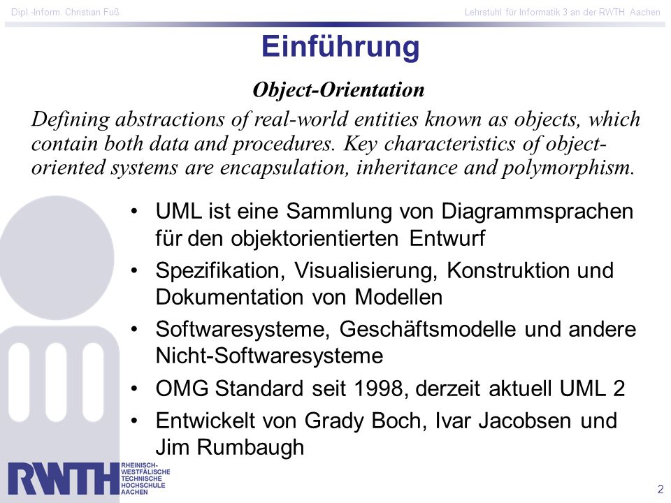 Einführung Object-Orientation