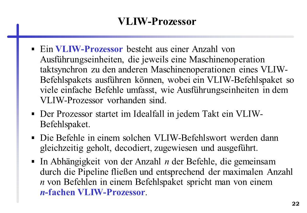 VLIW-Prozessor