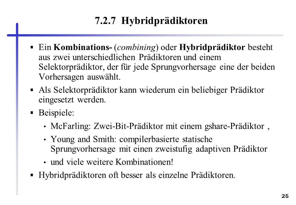 7.2.7 Hybridprädiktoren