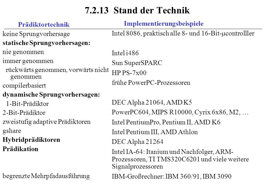 7.2.13 Stand der Technik Implementierungsbeispiele