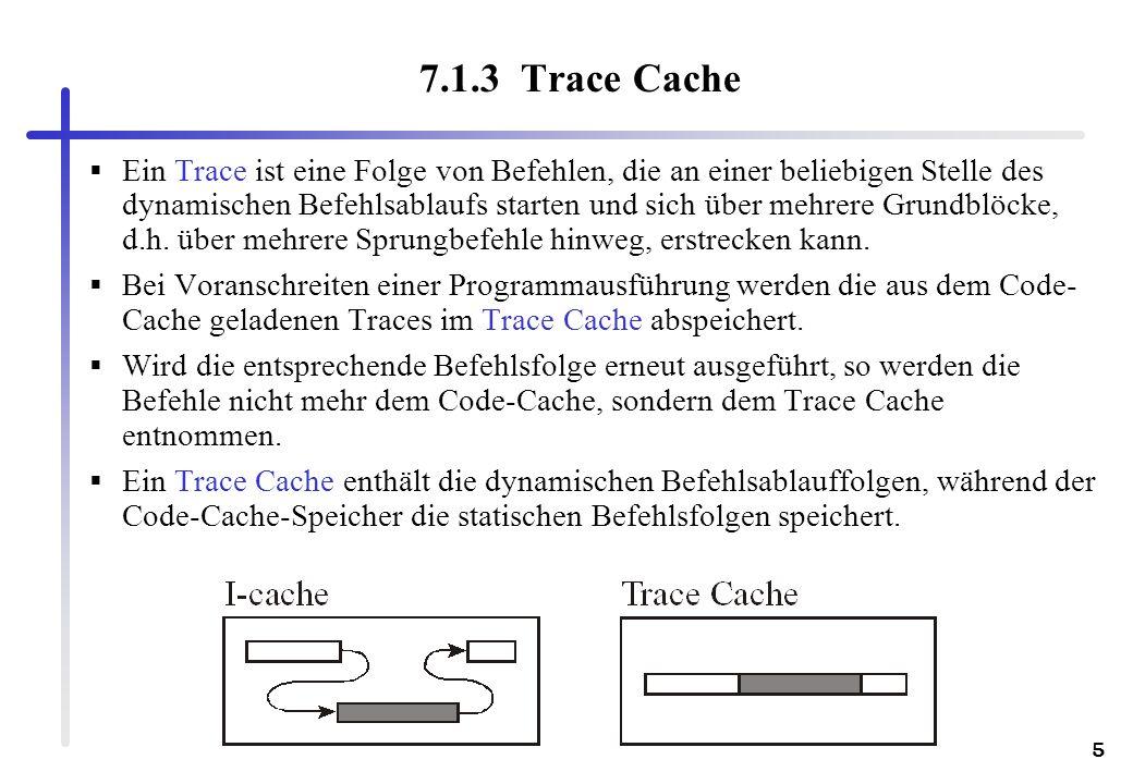 7.1.3 Trace Cache