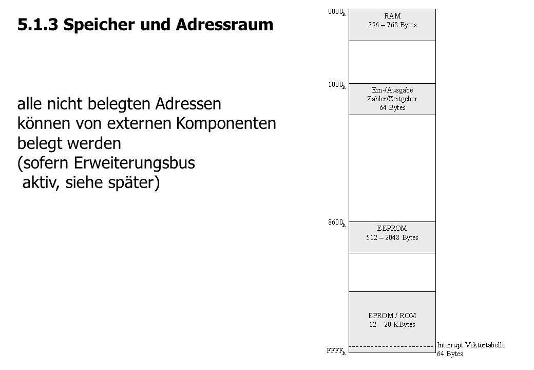 5.1.3 Speicher und Adressraum