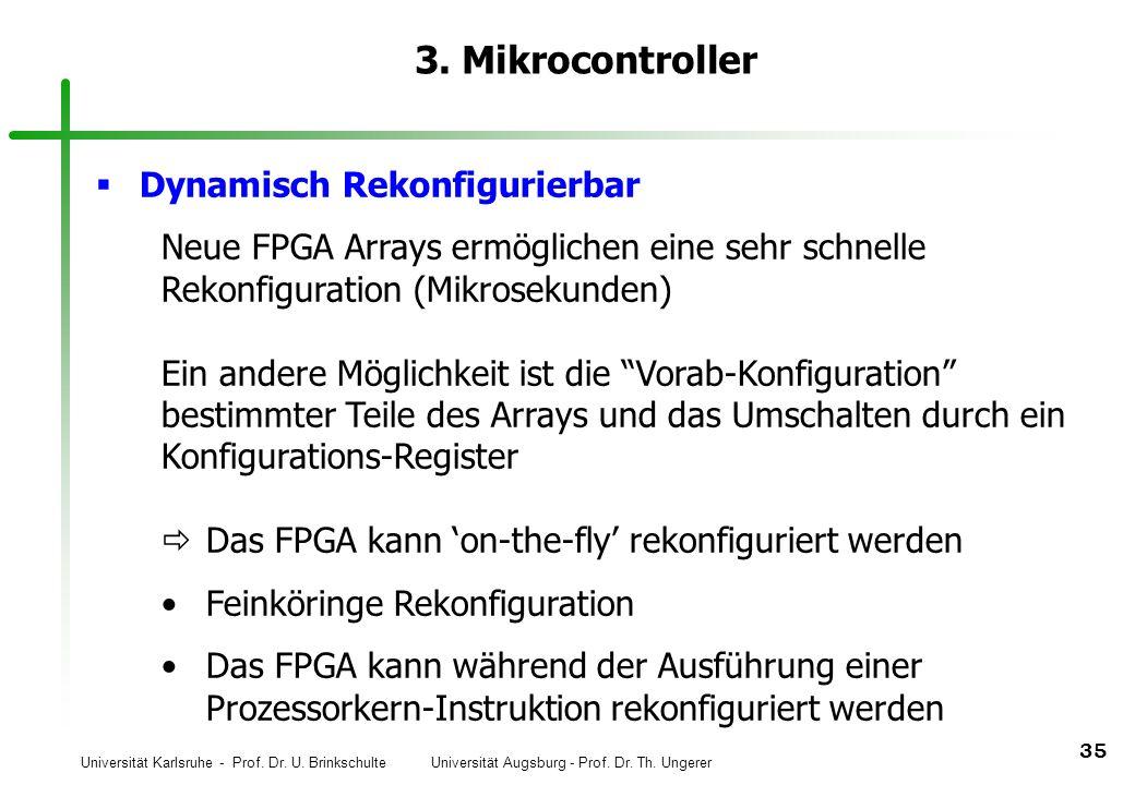 3. Mikrocontroller Dynamisch Rekonfigurierbar