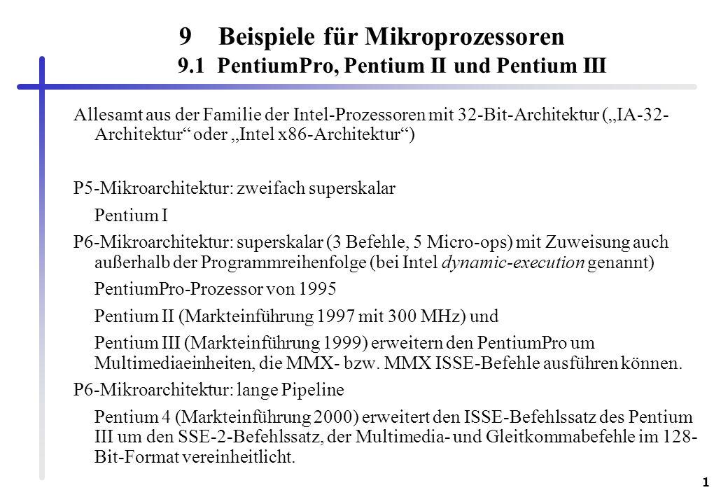 Beispiele für Mikroprozessoren 9