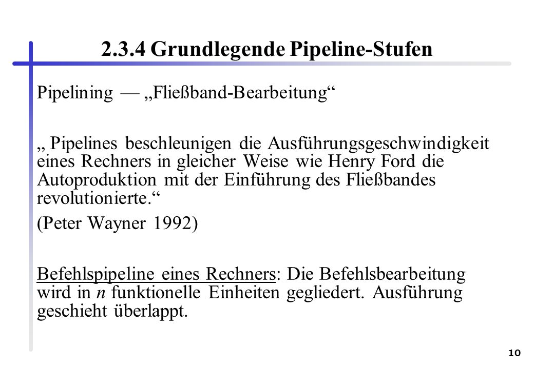 2.3.4 Grundlegende Pipeline-Stufen