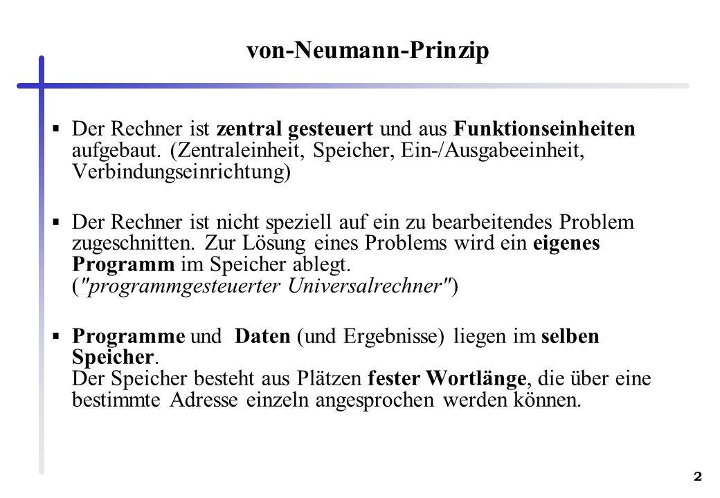 von-Neumann-Prinzip