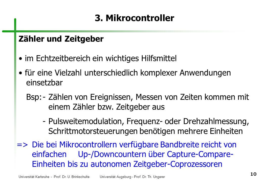 3. Mikrocontroller Zähler und Zeitgeber