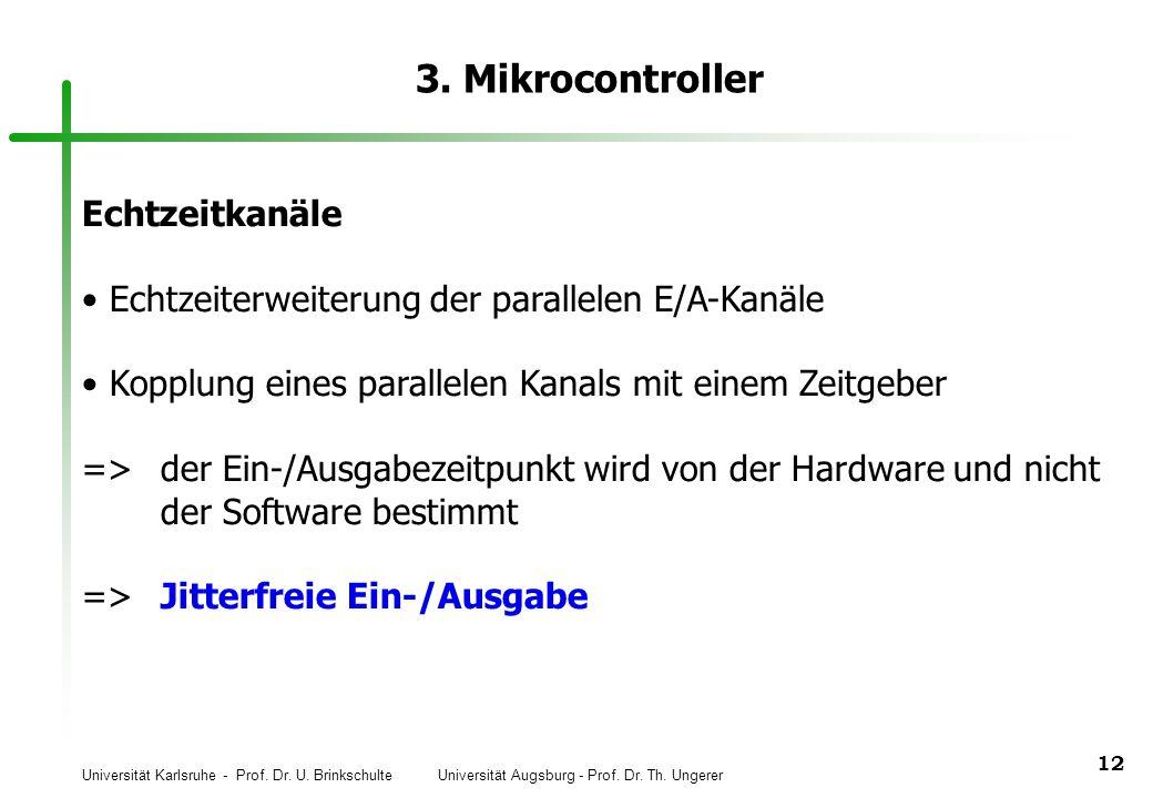 3. Mikrocontroller Echtzeitkanäle