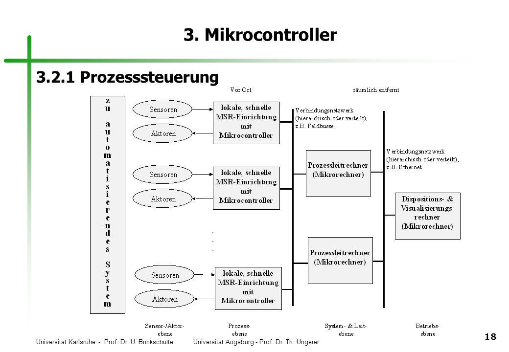 3. Mikrocontroller 3.2.1 Prozesssteuerung