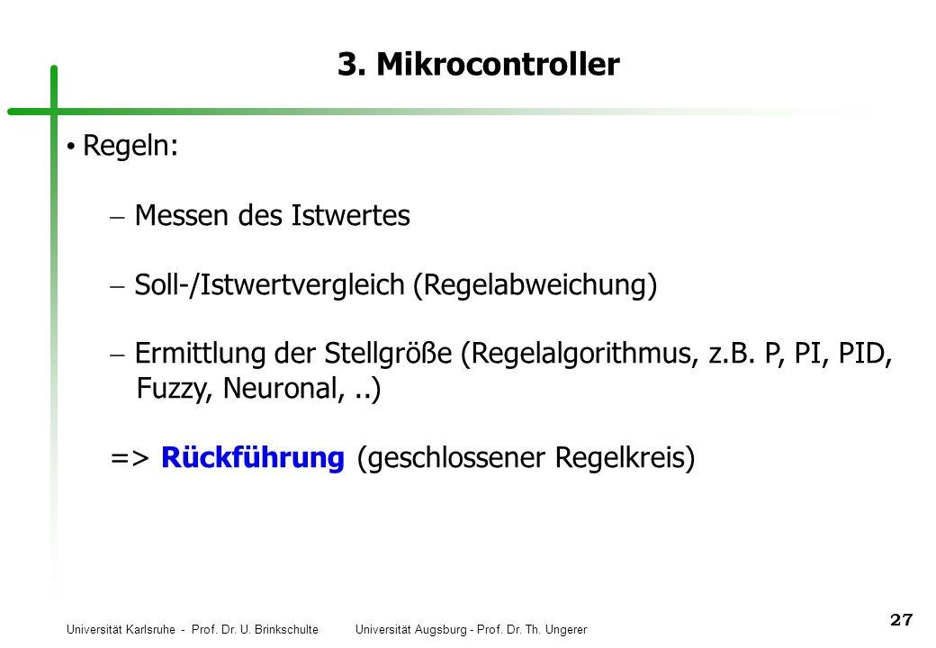 3. Mikrocontroller Regeln: Messen des Istwertes