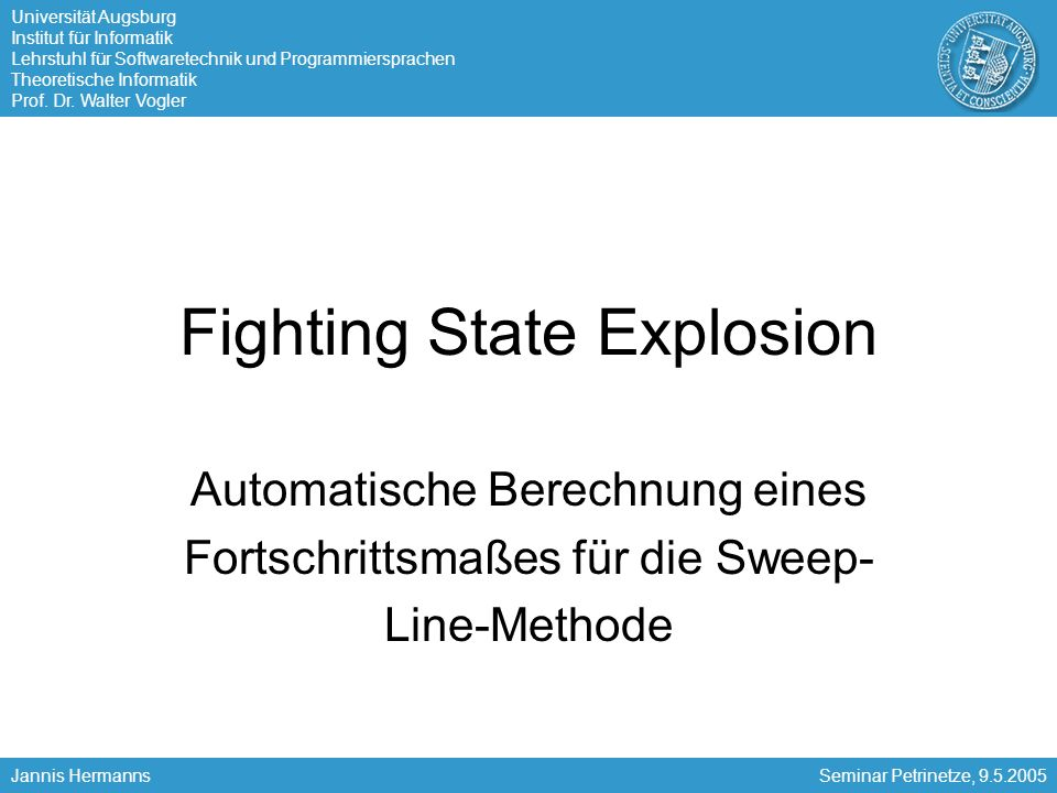 Fighting State Explosion