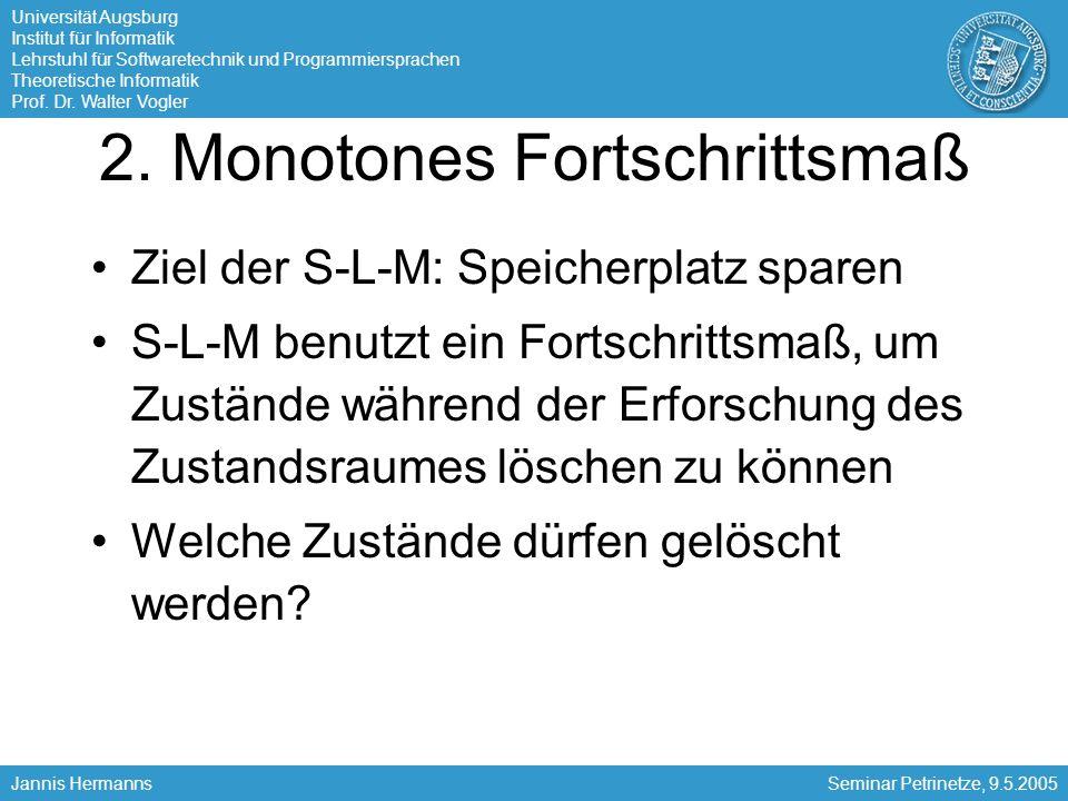 2. Monotones Fortschrittsmaß