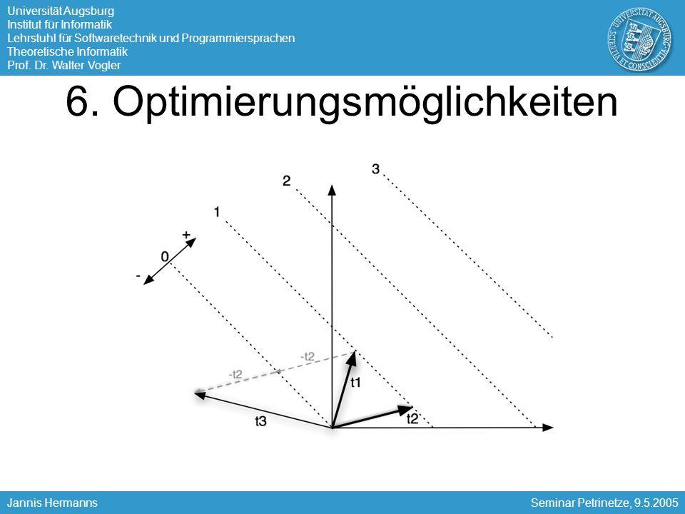 6. Optimierungsmöglichkeiten
