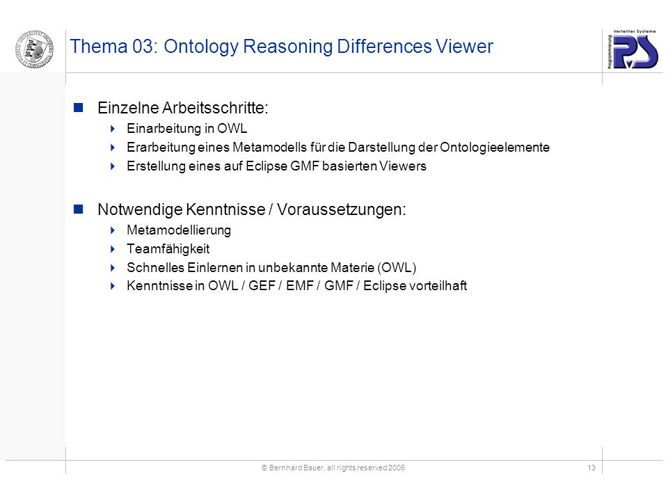 Thema 03: Ontology Reasoning Differences Viewer