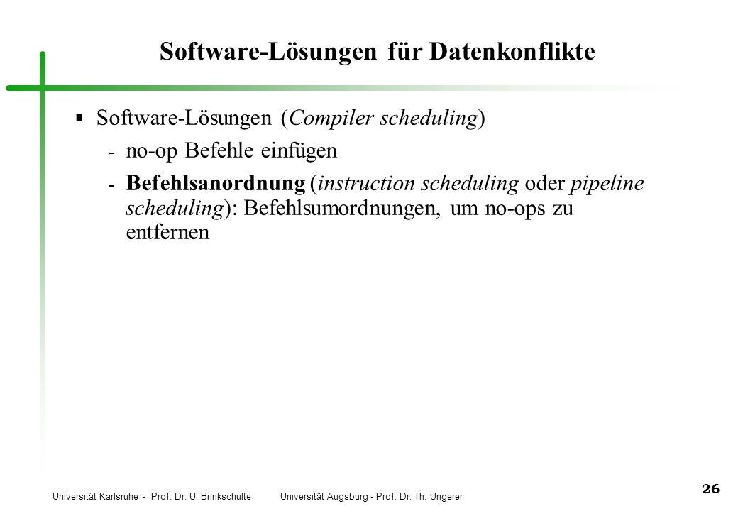 Software-Lösungen für Datenkonflikte