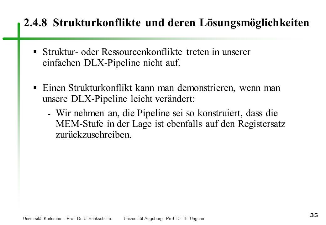 2.4.8 Strukturkonflikte und deren Lösungsmöglichkeiten