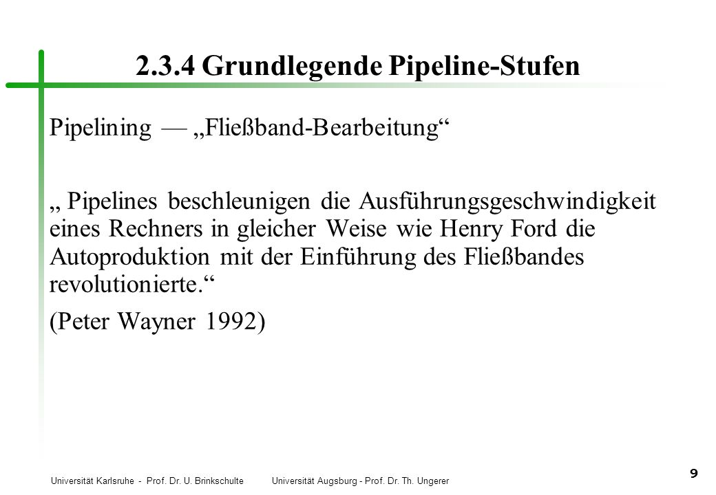 2.3.4 Grundlegende Pipeline-Stufen