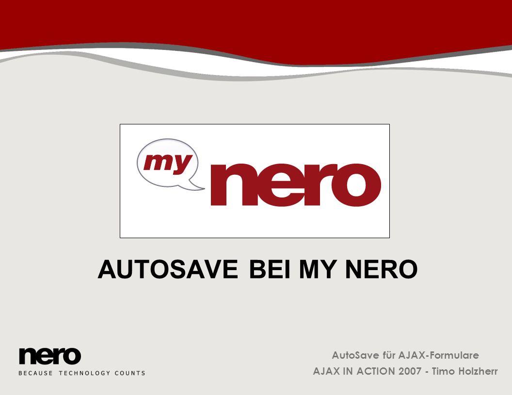 AutoSave bei My Nero