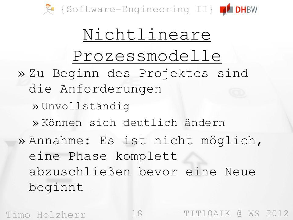 Nichtlineare Prozessmodelle