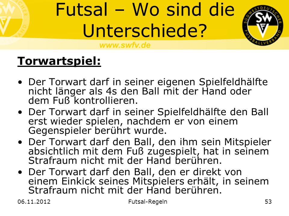 Futsal – Wo sind die Unterschiede