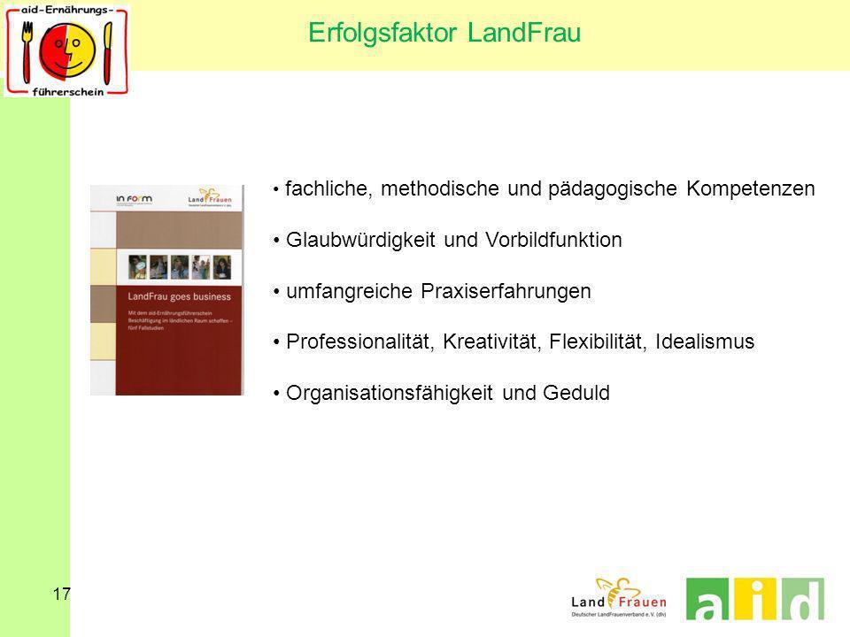 Erfolgsfaktor LandFrau