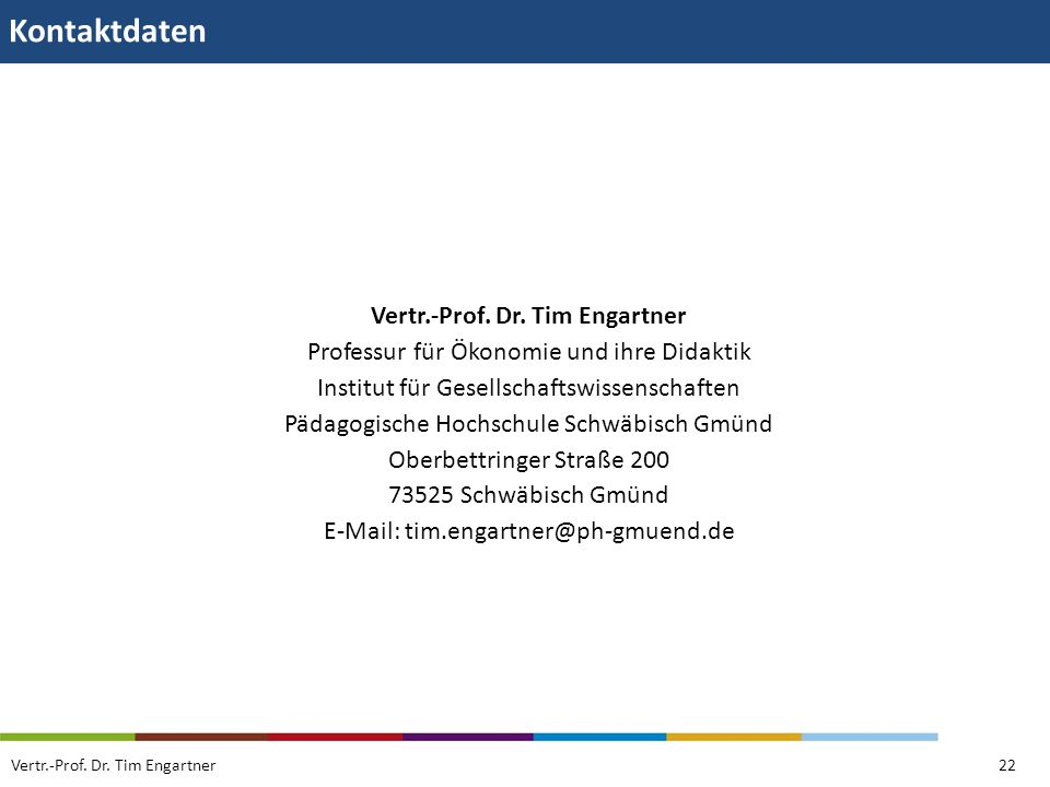 Vertr.-Prof. Dr. Tim Engartner