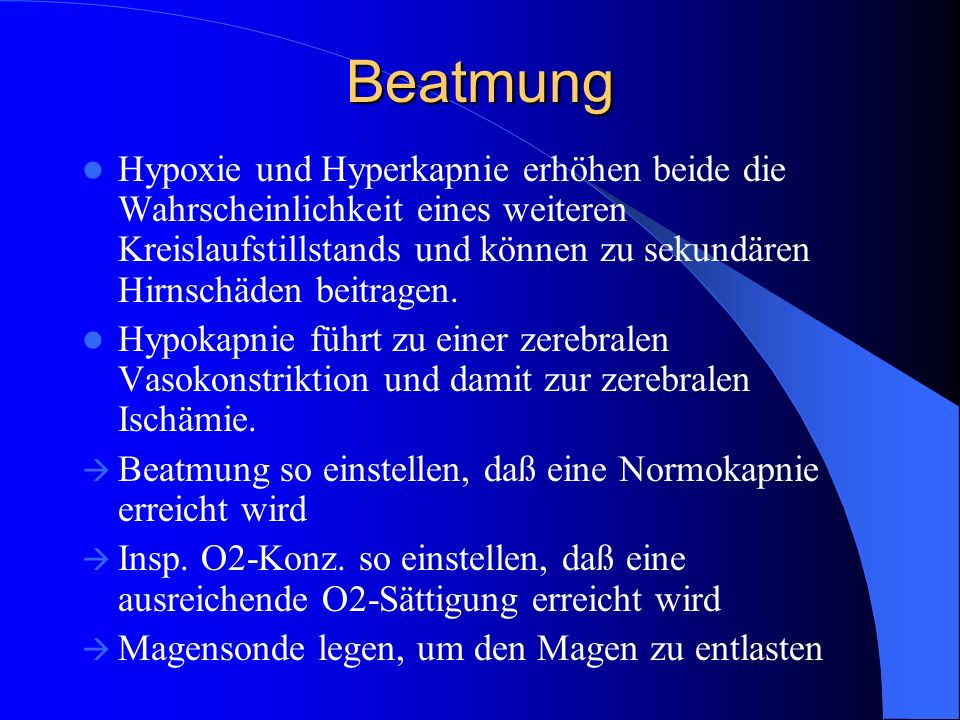 Beatmung