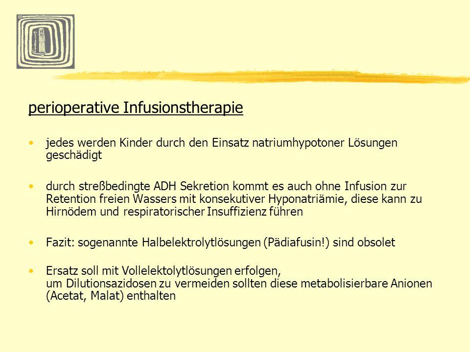 perioperative Infusionstherapie