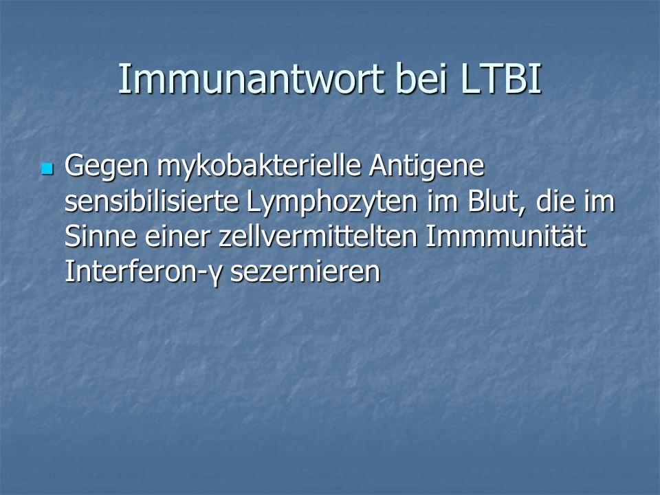 Immunantwort bei LTBI