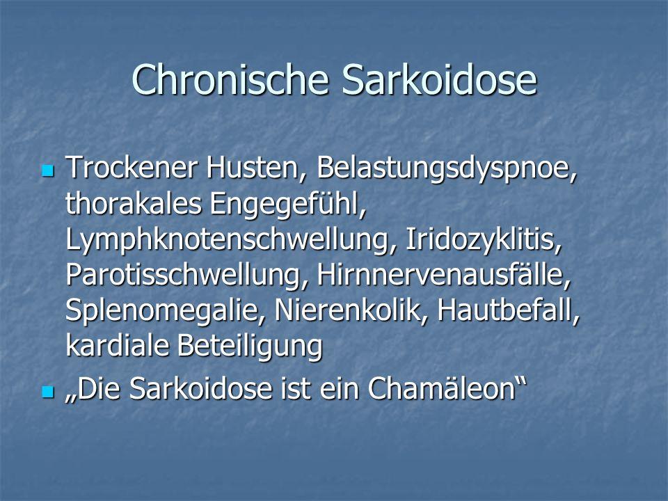 Chronische Sarkoidose