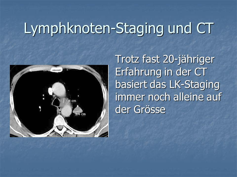 Lymphknoten-Staging und CT