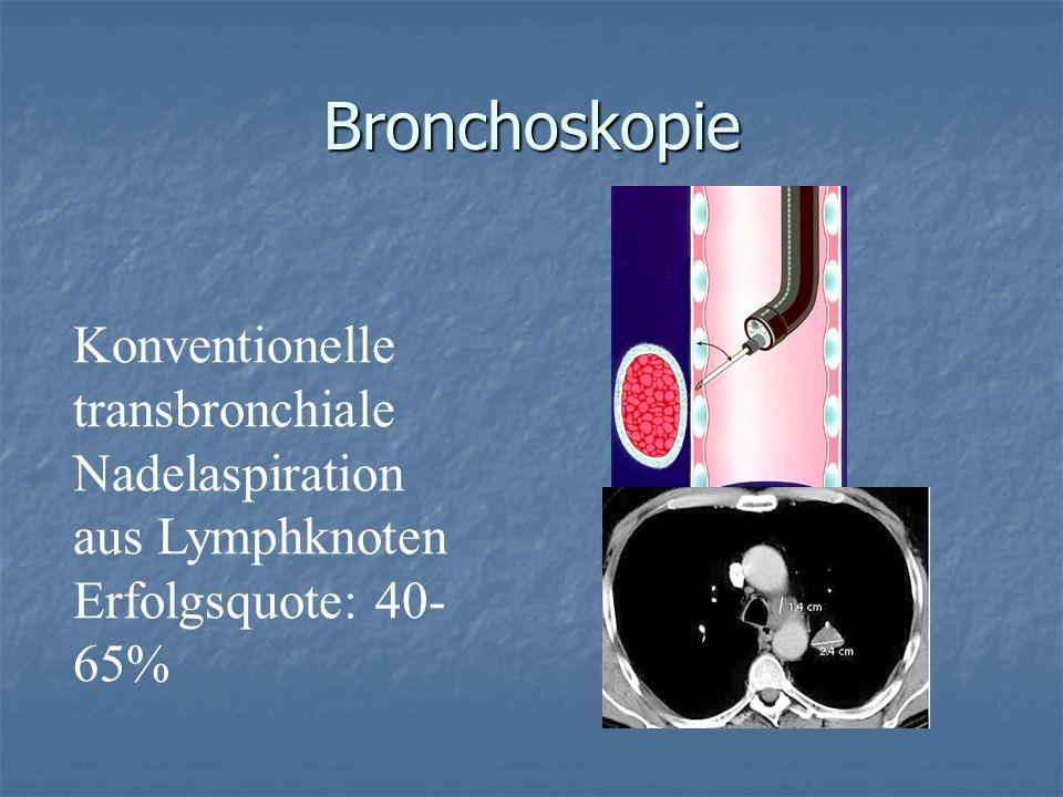 Bronchoskopie Konventionelle transbronchiale
