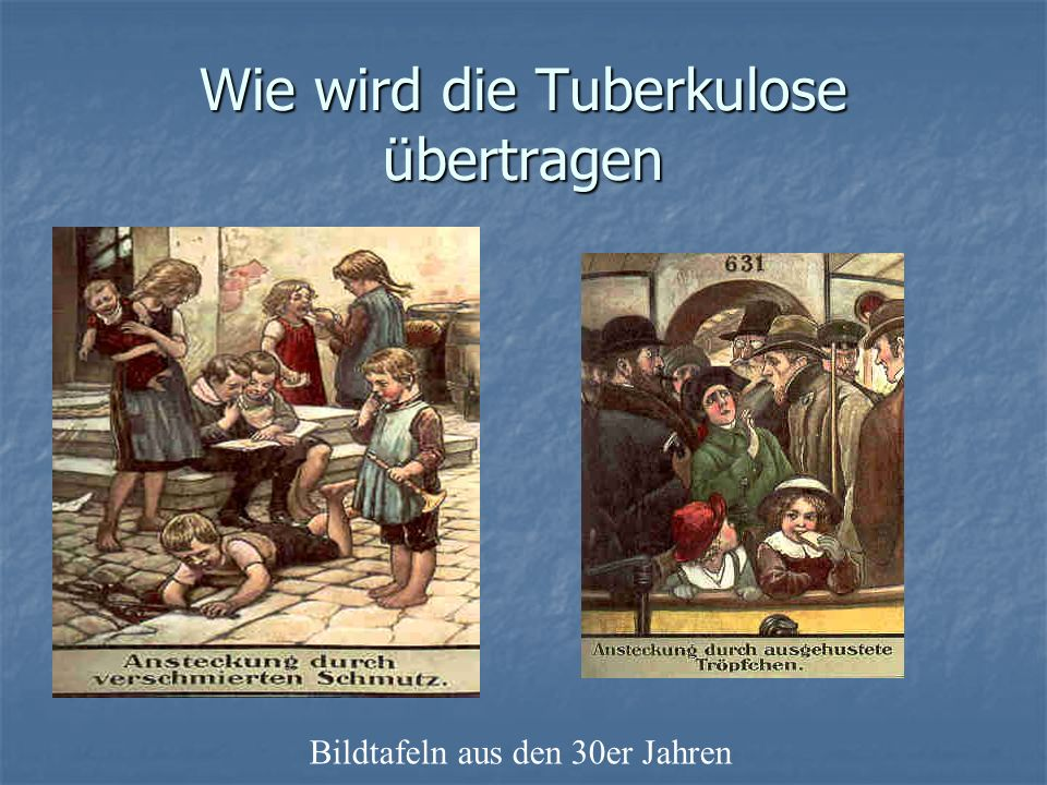 Wie wird die Tuberkulose übertragen