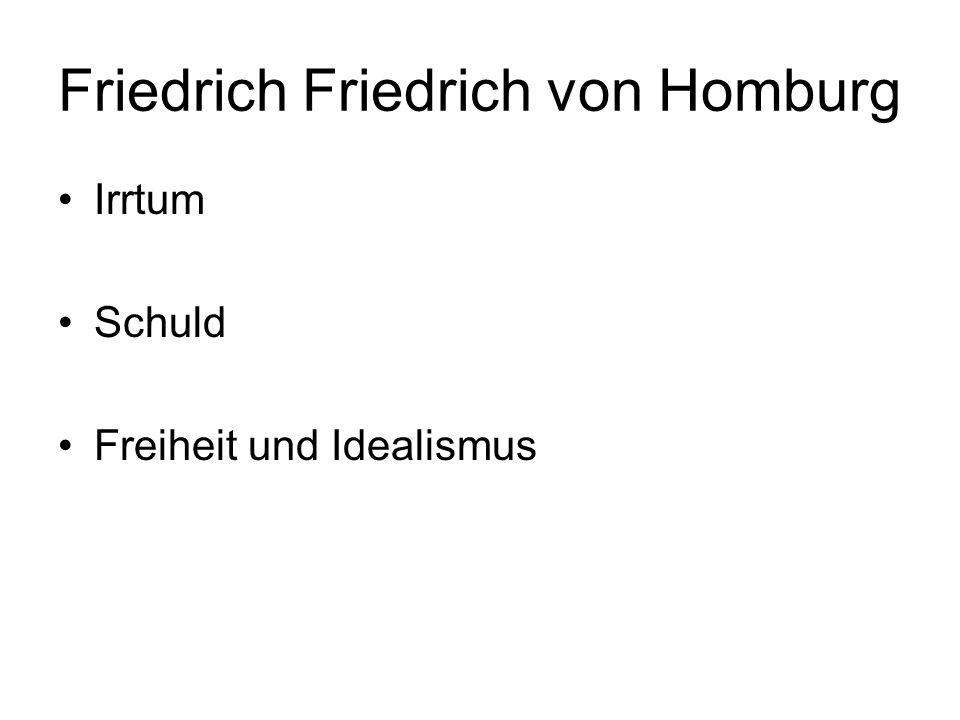 Friedrich Friedrich von Homburg