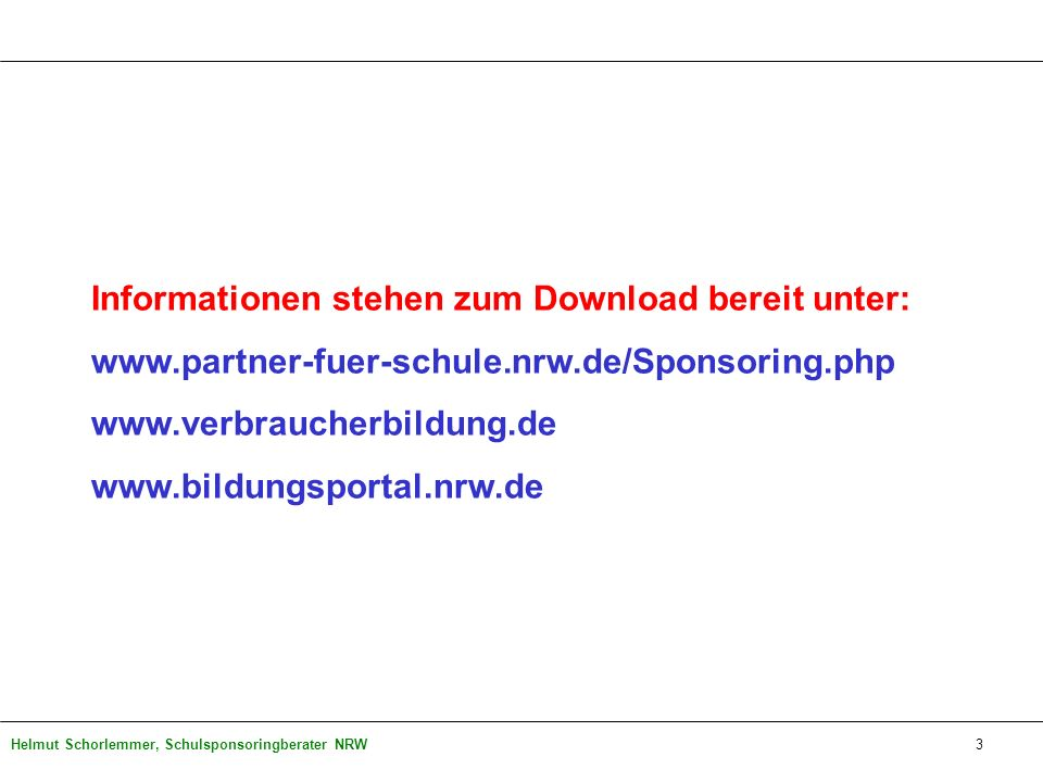 Informationen stehen zum Download bereit unter:
