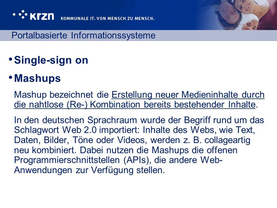 Portalbasierte Informationssysteme