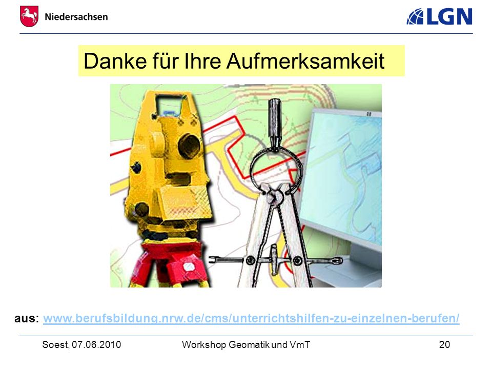 Workshop Geomatik und VmT