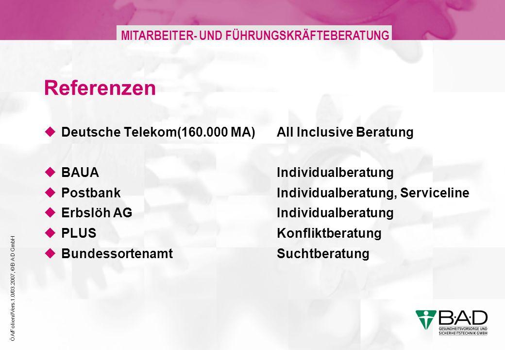 Referenzen Deutsche Telekom(160.000 MA) All Inclusive Beratung