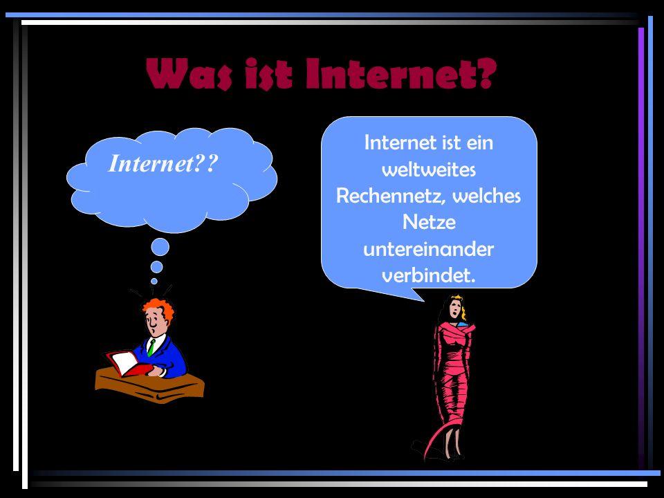 Was ist Internet Internet