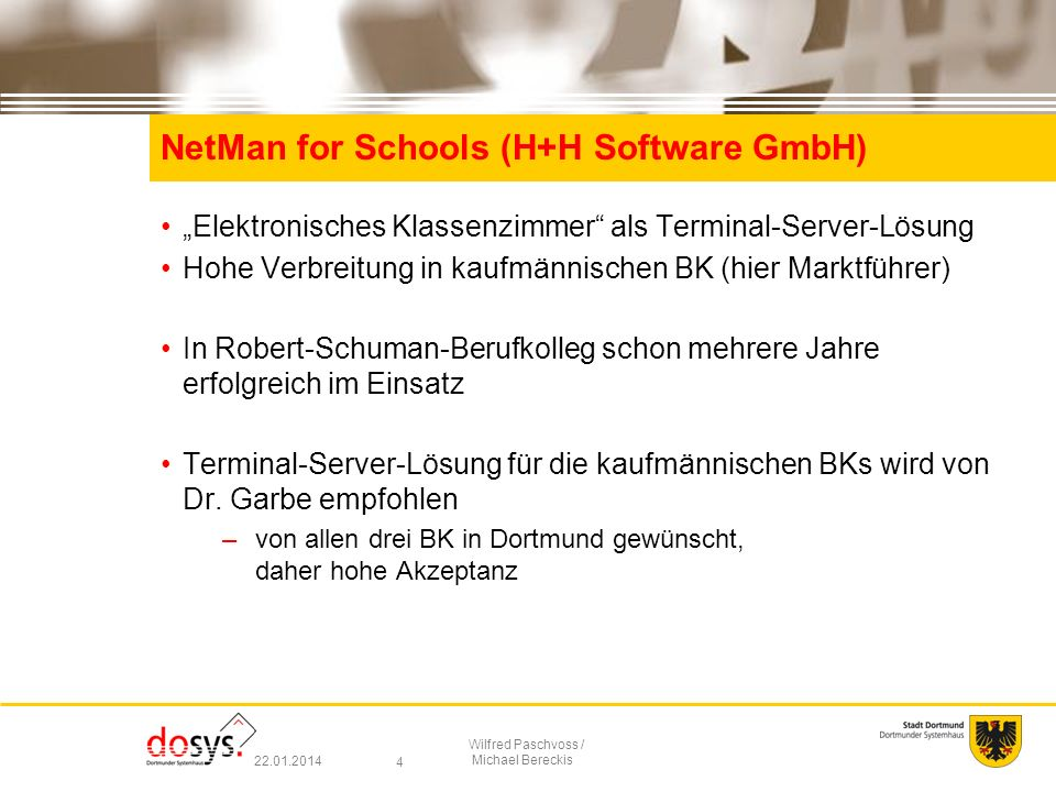 NetMan for Schools (H+H Software GmbH)