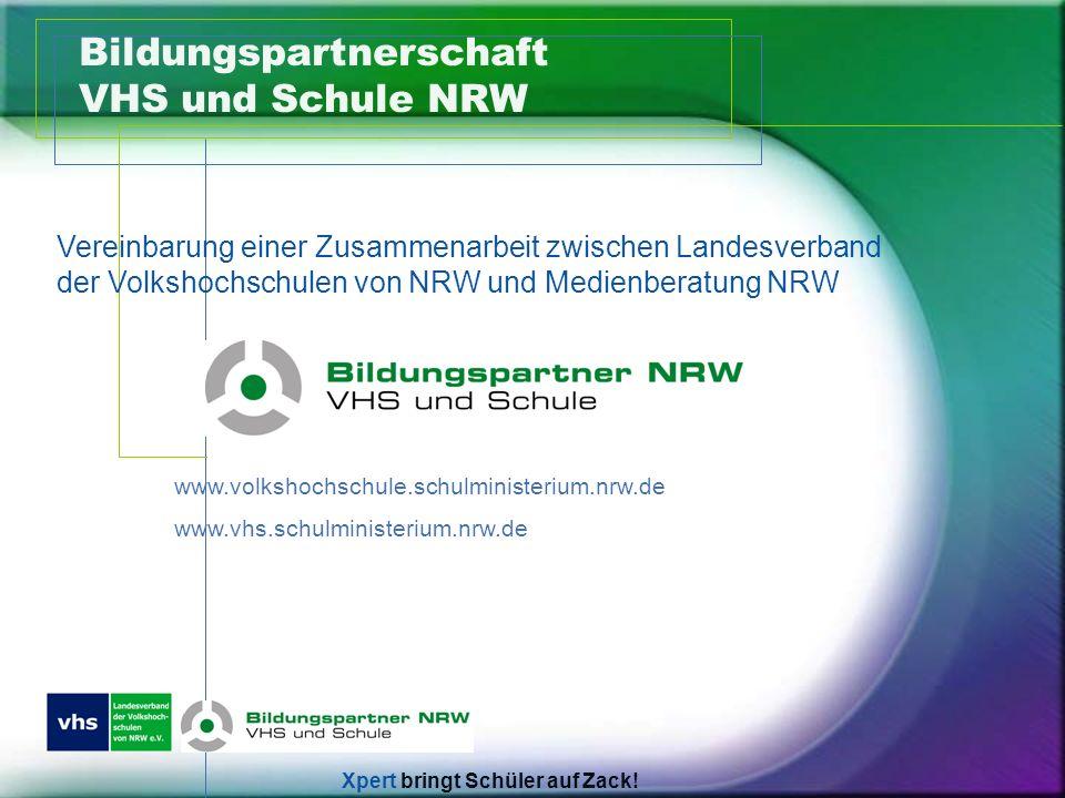 Bildungspartnerschaft VHS und Schule NRW