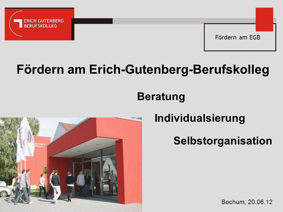 Fördern am Erich-Gutenberg-Berufskolleg