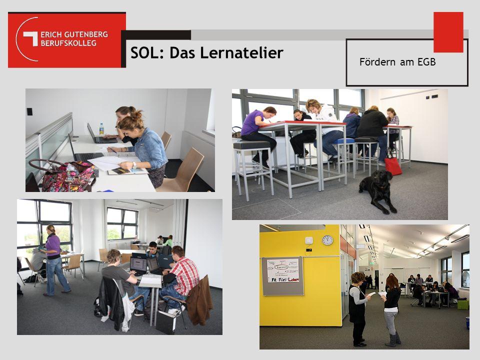 SOL: Das Lernatelier Fördern am EGB