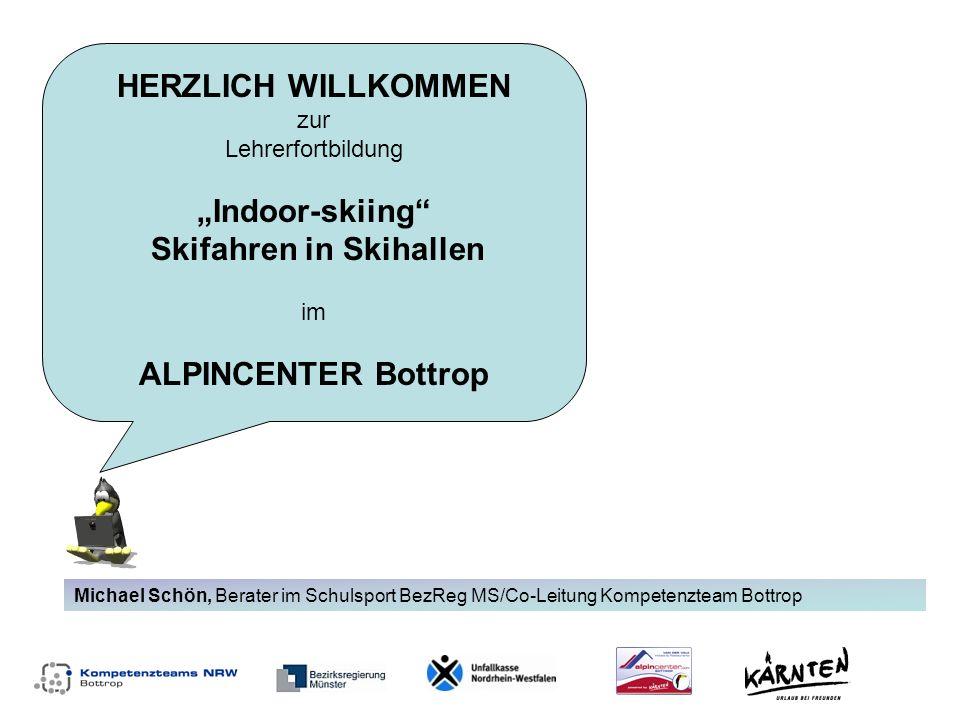 """""""Indoor-skiing Skifahren in Skihallen im"""