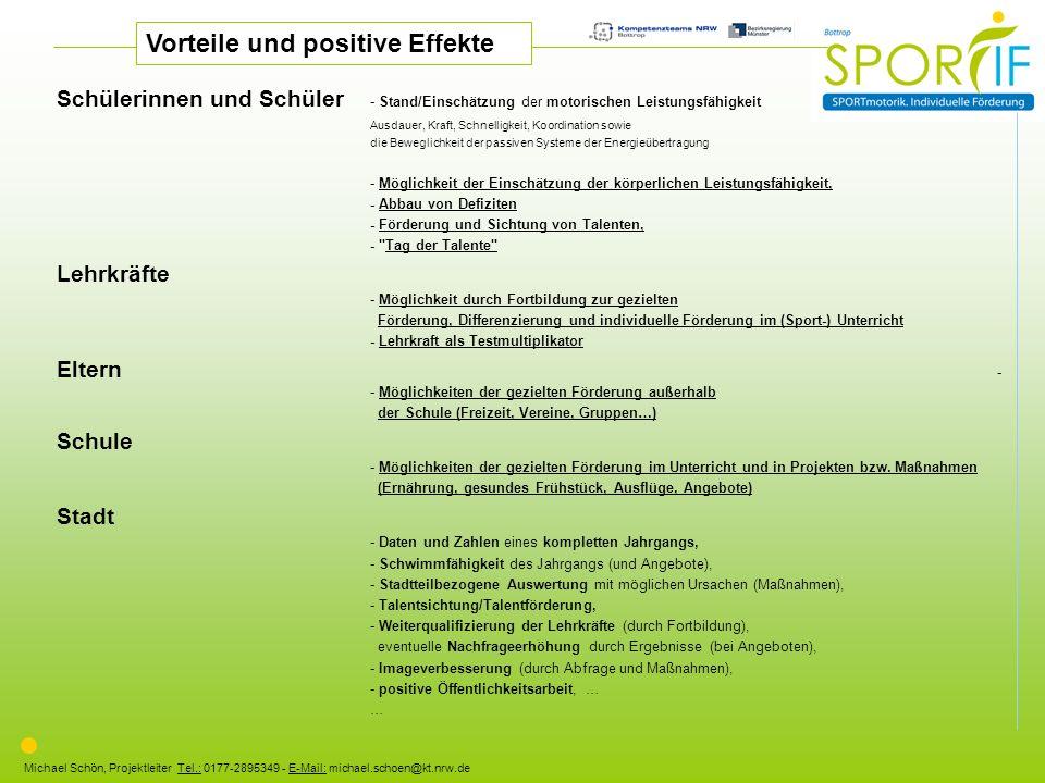 Vorteile und positive Effekte