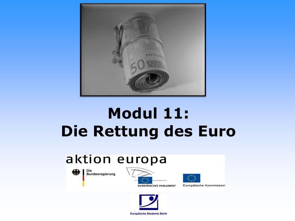Modul 11: Die Rettung des Euro