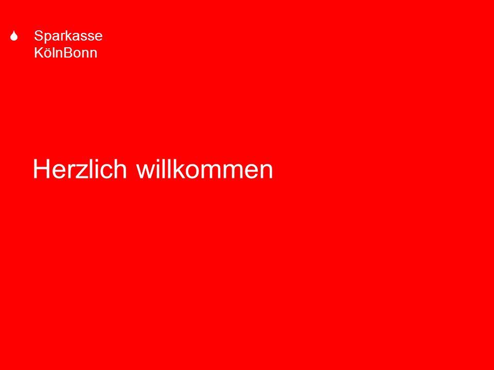 S Sparkasse KölnBonn Herzlich willkommen 1